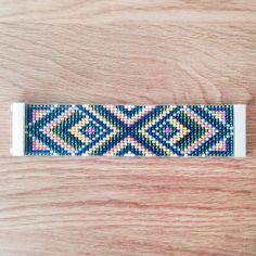 Jewelry Zilli, Bracelet tissé en perles de Rocaille, fermoir aimanté 10 : Bracelet par boutique-zilli