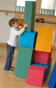 Briks... bringt Kinder in Bewegung! Briks-Kinderspielhäuser - Bauklötze aus…