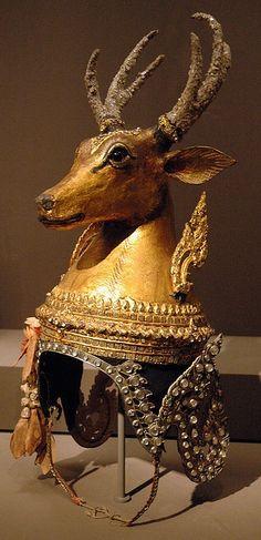 Thai deer headdress