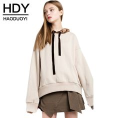 We love it and we know you also love it as well HDY Haoduoyi 2017 Fashion Hooded Tops Women Long Sleeve Split Female Sweatshirts Sweet Style Velvet Patchwork Ladies Sweatshirts just only $15.99 with free shipping worldwide  #womanhoodiessweatshirts Plese click on picture to see our special price for you