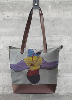 VIDA Tote Bag - Rose1 by VIDA OJ2k8Mg