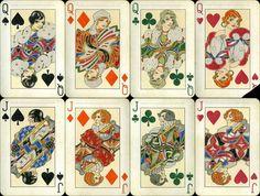 Dondorf SAKS №909 ultra rare playing cards, Dondorf SAKS №909 kartenspiel 1930 | eBay