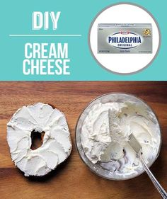 Homemade Cream Cheese | 29 Foods You Didn't Know You Could DIY