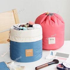 Padding Travel Dresser Pouch Jumbo Size Organizer Bag Makeup Cosmetic Toiletry Bag DBA-476811