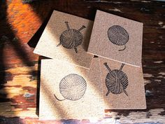Gift Inspiration: Stamped Cork