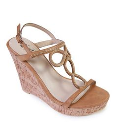 4e1f50f82505 GC Shoes Tan Eternity Wedge Sandal