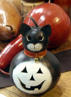 Gourd Kitty Pumpkin