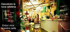 art, disseny, artesania + esmorzars, berenars, sopars i copes. Carrer València 293