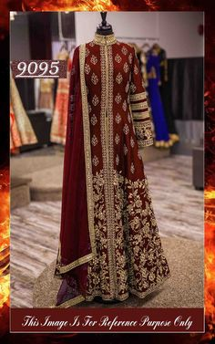 Maroon Coloured Bangaloreyi silk beautiful Look 3 Piece Lehenga
