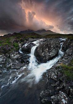 ~ Living a Beautiful Life ~ The burning Cuillins - Sligachan Isle of Skye Scotland.