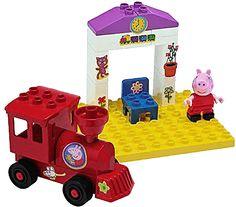 BIG PlayBig Bloxx Peppa Pig železničná zastávka