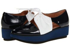 Robert Clergerie Daline Navy Patent - Zappos.com Free Shipping BOTH Ways