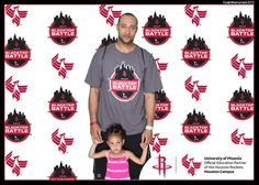 Houston Rockets event activation by Catch the Moment. #experiential #eventmarketing #eventphotography #greenscreen