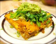 Recipe: Vegan Baked Enchilada Casserole