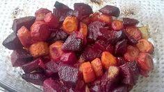 zsannamanna: Sült cékla Fruit Salad, Food, Fruit Salads, Meal, Essen, Hoods, Meals, Eten