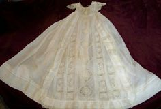 Smocking by Janet: Vintage Christening Gown