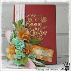 Джамбо Побитый Florals Вдохновение: День 3