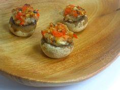 Seafood Stuffed Mushrooms...yes please!