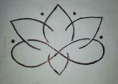 Lotus flower infinity symbol tattoo idea...love