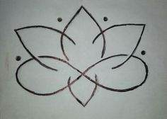 Lotus flower infinity symbol tattoo idea...love