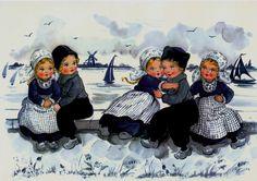 Delft Blue Children Postcard 7   Flickr - Photo Sharing!