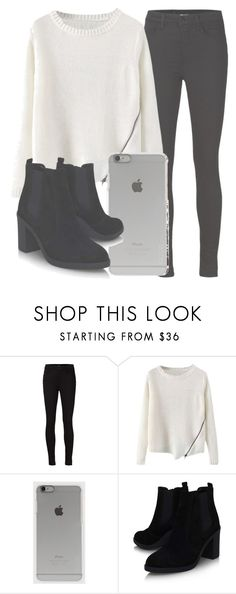 """Outfit #1240"" by sofiaabaarona1998 on Polyvore featuring moda, J Brand, Incase, Topshop, women's clothing, women, female, woman, misses y juniors"