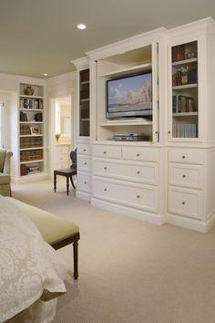 Master bedroom built-in