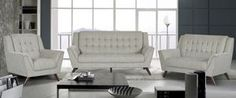 New (never used), Brand New Never Used This set includes sofa and love seat Free local delivery Limited quantities available Also available in black. Dream Furniture, New Furniture, Discount Furniture, Sofa And Loveseat Set, Online Furniture Stores, Mid Century Style, Living Room Sets, Mid-century Modern, Love Seat