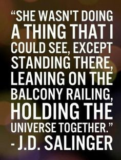 Holding the Universe ~