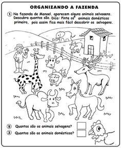 Resultado de imagem para animais domesticos e selvagens
