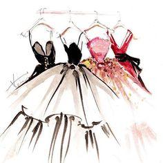 Image de dress, drawing, and art