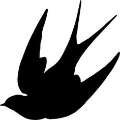 bird stencil Animals Bird Flying - Free vector graphic on Pixabay Vogel Silhouette, Bird Silhouette Art, Silhouette Vector, Silhouettes, Bird Stencil, Damask Stencil, Outline Images, Image Icon, Stencil Patterns