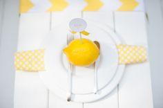 Sommerliche Tischdeko mit gelben Zitronen by Fräulein K sagt Ja5