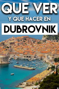 Cosas que Ver en Dubrovnik, Croacia, en un Día - Travel To Blank Places To Travel, River, Vacations, Trips, Outdoor, Dubrovnik Croatia, Slovenia, Exotic Places, Holidays