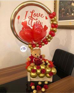 Balloon Holders, Balloon Box, Balloon Gift, Balloon Bouquet, Balloon Arch, Balloon Crafts, Balloon Decorations Party, Valentines Balloons, Balloon Arrangements