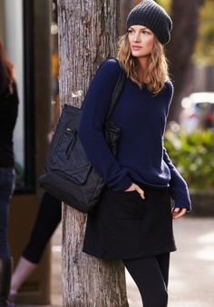 Muse Skirt in Black from hush