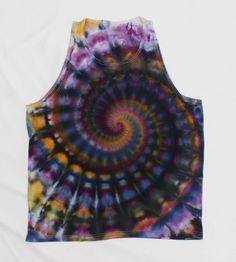 Майка Tie Dye Размер XL by OtdelMaljaraTieDye on Etsy