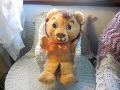 Sweet Vintage Toy Lion by Daysgonebytreasures on Etsy, $20.00 https://www.etsy.com/listing/190519203/sweet-vintage-toy-lion