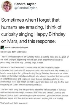 Curiosity Mars, Tumblr Funny, Funny Memes, Hilarious, It's Funny, Space Australia, Excuse Moi, Singing Happy Birthday, Writing
