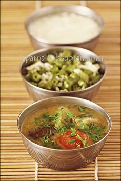 """Puducherry Sambhar from """"The POndicherry Kitchen"""" by Lourdes Tirouvanziam-Louis"""