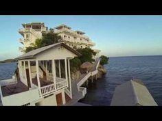 The Villa on Dunbar Rock-Guanaja Bay Islands My Dream, Diving, Islands, Villa, Video News, Rock, Mansions, House Styles, Outdoor Decor