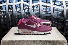 air max 90 pink/burgundy