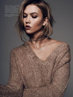 4ac0ce0ab5 Karlie Chameleon in L Officiel Manila with Karlie Kloss wearing Swarovski  Jewelry - - Fashion Editorial