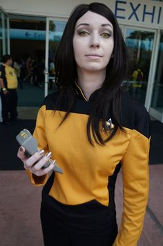 Female Data, Star Trek #cosplay.