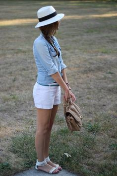 denim and linen