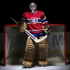 You want the most stressful job in sports? Live behind the mask of Montreal Canadiens goalie Carey Price. Goalie Pads, Goalie Gear, Hockey Goalie, Field Hockey, Hockey Teams, Hockey Players, Hockey Stuff, Hockey Mom, Montreal Canadiens