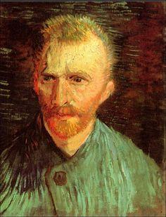 Self-Portrait, 1887-Vincent van Gogh (by BoFransson)