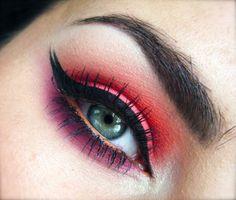 pink red orange #makeup BRIGHT