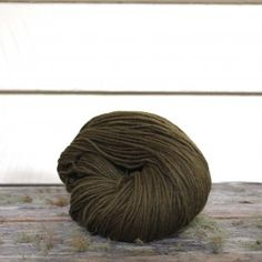 Harvest Wool - Olive dyed naturally from pomegranate rind