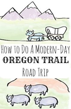 Recreate the Oregon Trail with this road trip itinerary #GrouponGetaways